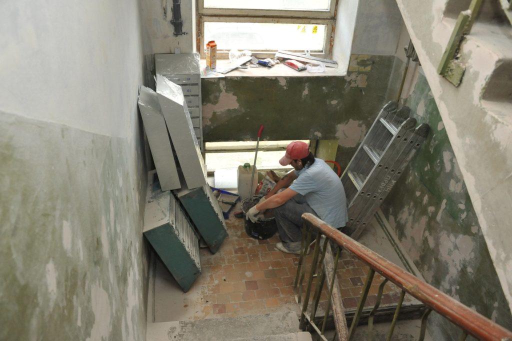 Подготовка к демонтажу
