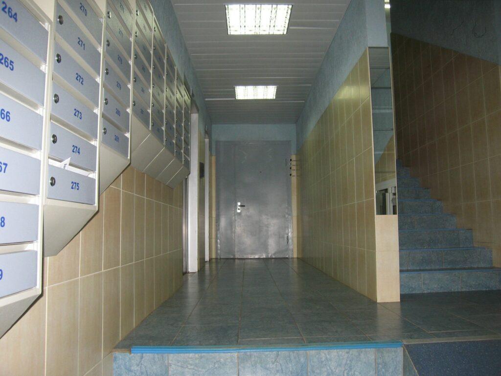 Плитка на полу и стенах
